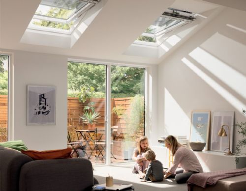 Velux GPL 2070 Top-hung Roof Windows Bright White Painted Finish
